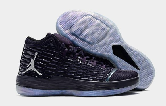 Фото Air Jordan Melo M13 Purple - 2